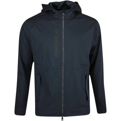 G/FORE Golf Jacket - Repeller Soft Shell Hoodie - Onyx FA21