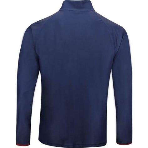 G/FORE Golf Pullover - Textured First Layer - Twilight Navy AW19
