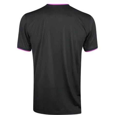 G/FORE Golf Shirt - Contrast Polo - Black Ink SS19