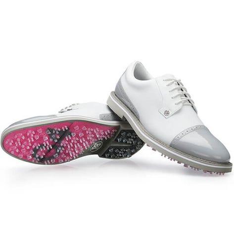 G/FORE Golf Shoes - Cap Toe Gallivanter - Snow - Nimbus 2019