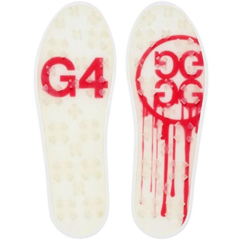 G/FORE Golf Shoes - Skull & T's Embossed Disruptor - Snow 2020