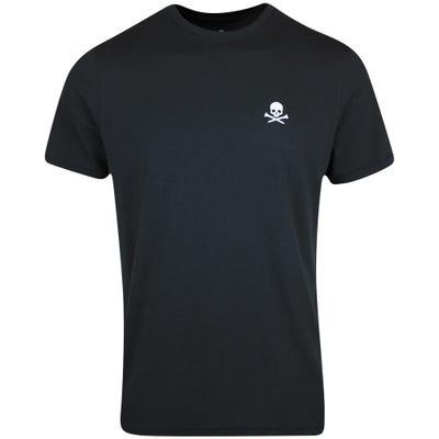 G/FORE T-Shirt - Back 9 Bully Tee - Onyx FA21