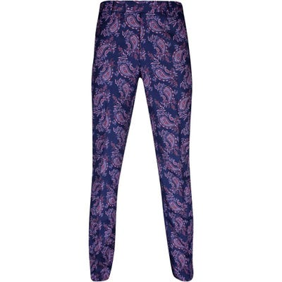 G/FORE Golf Trousers - Printed Paisley Pant - Twilight SS21
