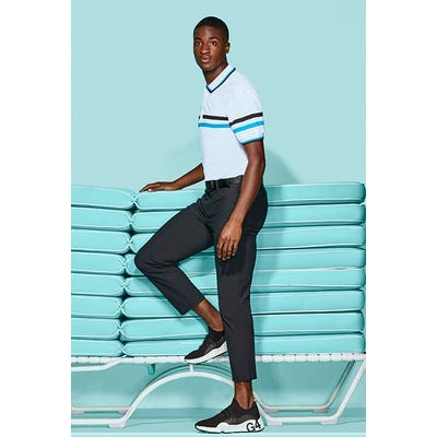 G/FORE - Blue Liberty Stripe Polo - Campaign SS21