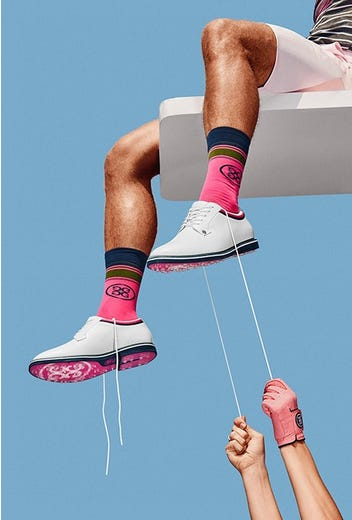 G/FORE - Pink Sole Gallivanter Shoes - Campaign SS21