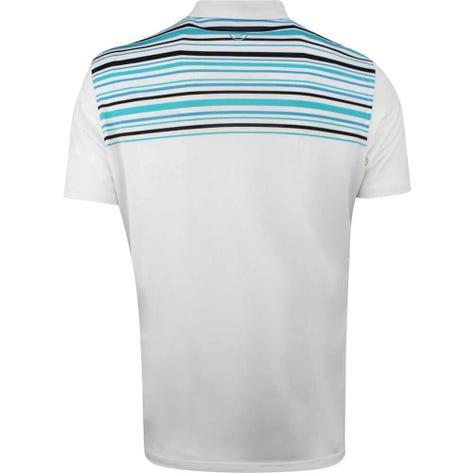 Galvin Green Golf Shirt - Melwin - White - Bluebird SS19