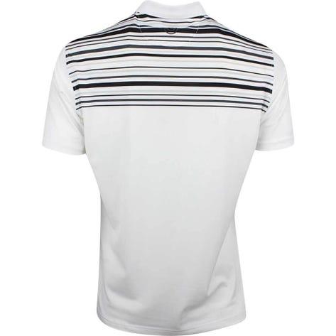 Galvin Green Golf Shirt - Melwin - White - Black SS19