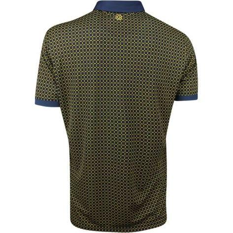 Galvin Green Golf Shirt - Monte - Navy - Lemon Chrome SS19
