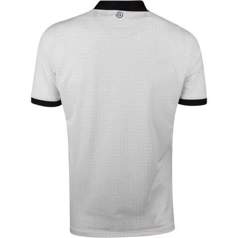 Galvin Green Golf Shirt - Monte - White SS19