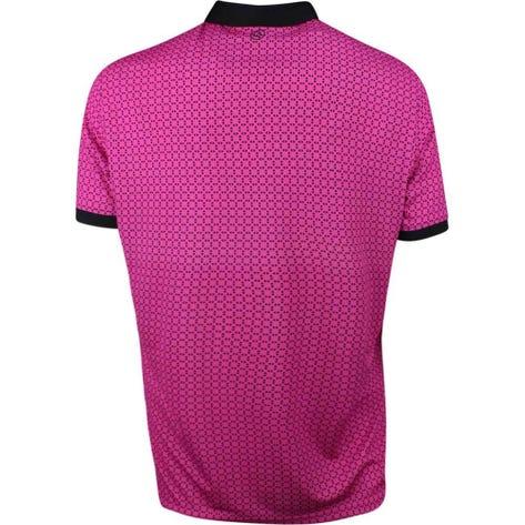 Galvin Green Golf Shirt - Monte - Magenta SS19