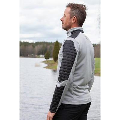 Galvin Green - Padded Sleeve Insula Sweater - Campaign SS21
