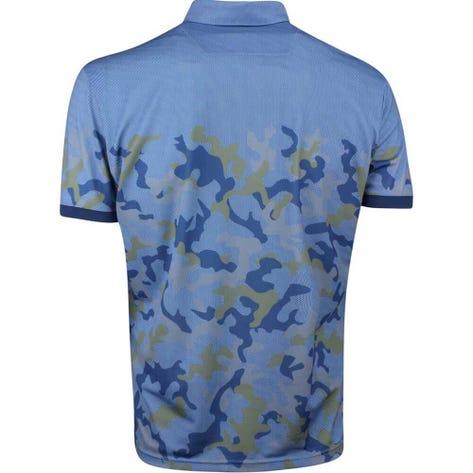 Galvin Green EDGE Golf Shirt - Kommendor Camo - Blue 2019