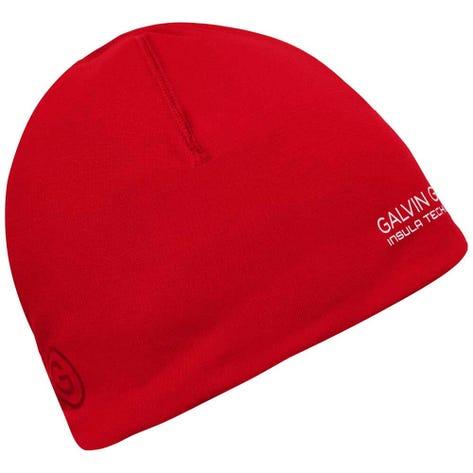 Galvin Green Golf Hat - Duran Insula Beanie - Red AW20