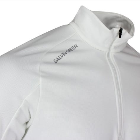 Galvin Green Golf Pullover - Drake Insula - White AW21