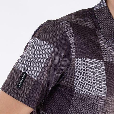 Galvin Green Golf Shirt - Mac - Black AW21