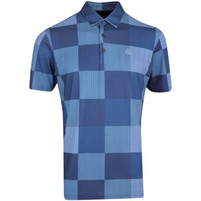 Galvin Green Golf Shirt - Mac - Bluebell AW21
