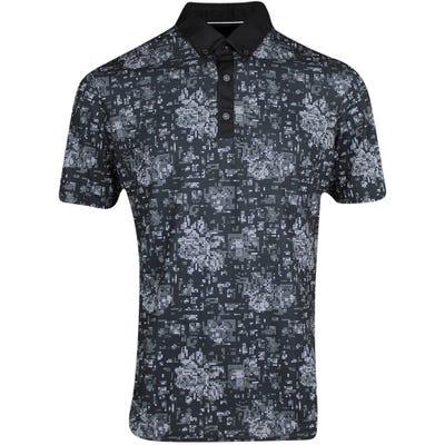 Galvin Green Golf Shirt - Maddox - Black AW21