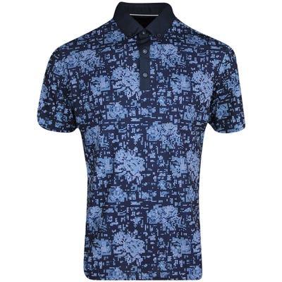 Galvin Green Golf Shirt - Maddox - Navy AW21
