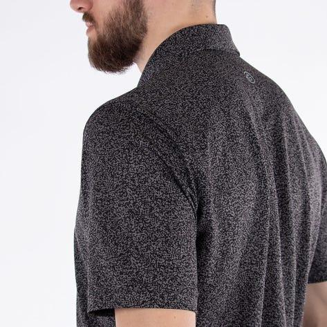 Galvin Green Golf Shirt - Marco - Black AW21