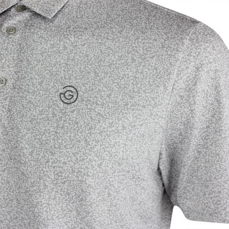 Galvin Green Golf Shirt - Marco - Cool Grey AW21