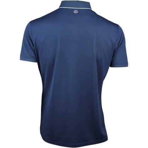 Galvin Green Golf Shirt - MARTY Tour - Navy SS21