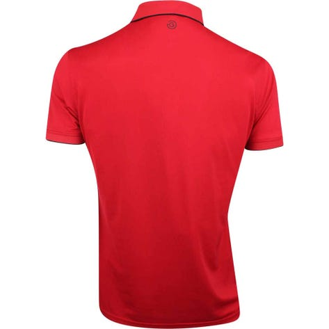 Galvin Green Golf Shirt - Marty Tour - Red SS21