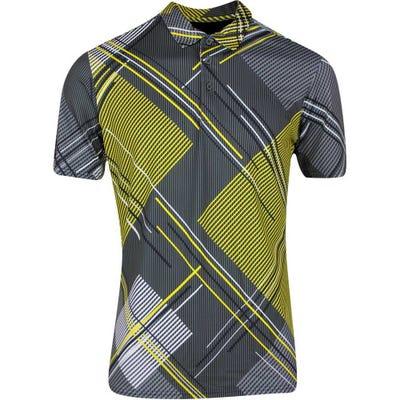 Galvin Green Golf Shirt - Mitchell - Yellow SS21