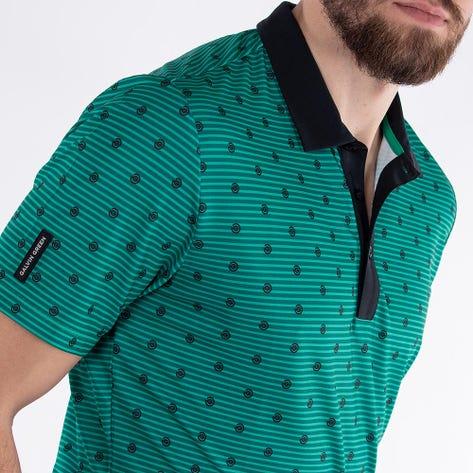 Galvin Green Golf Shirt - Monty - Green AW21