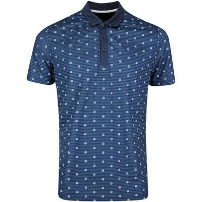Galvin Green Golf Shirt - Monty - Navy AW21