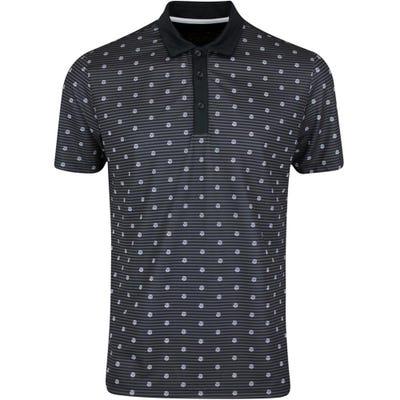 Galvin Green Golf Shirt - Monty - Black AW21