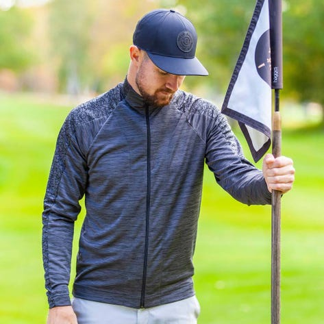 Galvin Green Golf Jacket - Declan Insula - Black AW20