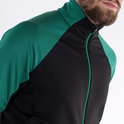 Galvin Green Golf Jacket - Dominic Insula - Black - Green AW21