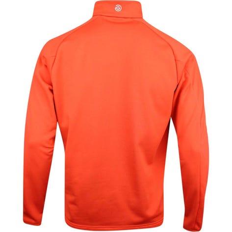 Galvin Green Golf Pullover - Drake Insula - Rusty Orange AW19