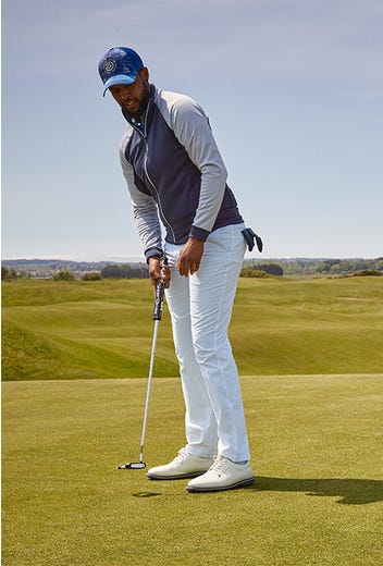 Galvin Green - Links Collection Outfit - Campaign SS21