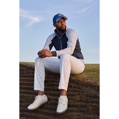 Galvin Green - Navy Full Zip Insula Layer - Links Campaign SS21