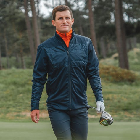 Galvin Green Golf Jacket - Lyon Infinium IFC-1 - Navy SS20