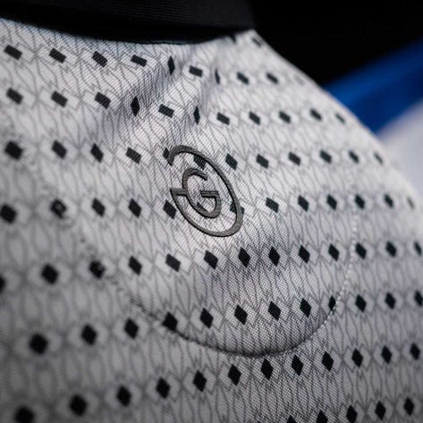 Galvin Green Golf Shirt - Mario - Cool Grey SS20