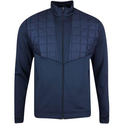 Galvin Green Golf Jacket - Damian Padded Insula - Navy AW21