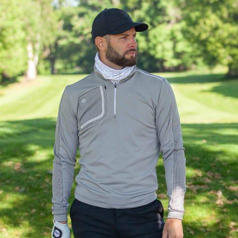 Galvin Green Golf Pullover - Dwight Insula - Sharkskin AW20