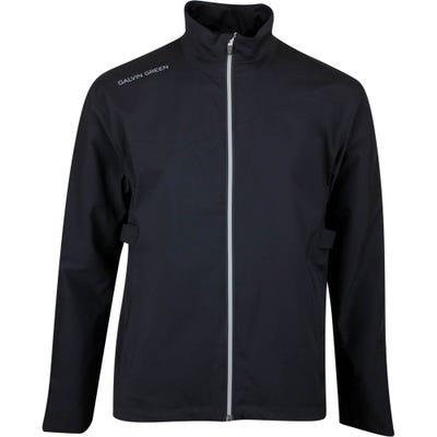 Galvin Green Waterproof Golf Jacket - Aaron - Black SS21