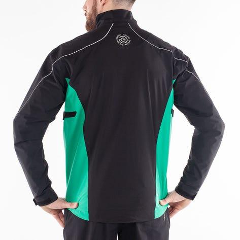 Galvin Green Waterproof Golf Jacket - Ace - Black - Green AW21