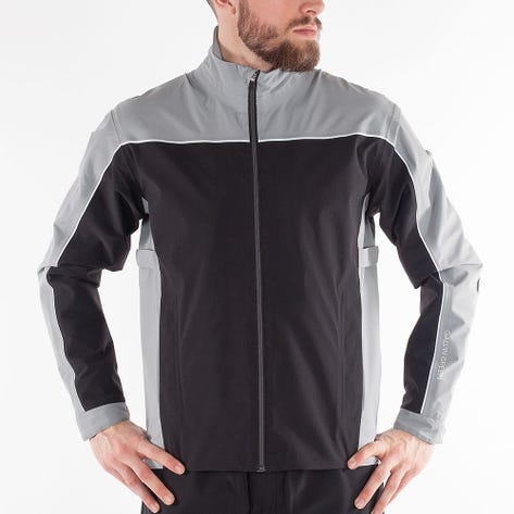Galvin Green Waterproof Golf Jacket - Ace - Black - Sharkskin AW21