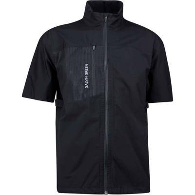 Galvin Green Waterproof Golf Jacket - Alvin Paclite - Black AW21
