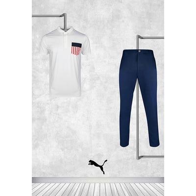 Gary Woodland - Masters Sunday - Volition USA Pocket Golf Shirt 2021