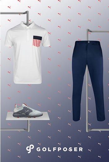 Gary Woodland - US Open Friday - PUMA Golf Shoes 2021
