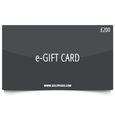 Golfposer £200 Gift