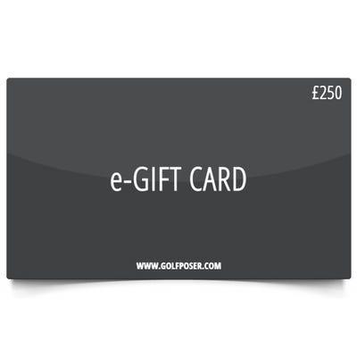Golfposer £250 Gift