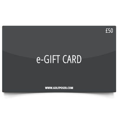 Golfposer £50 Gift