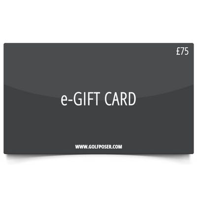 Golfposer £75 Gift