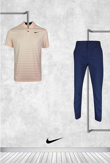 Greg Koch - US PGA Friday - Nike Vapor Golf Shirt 2021